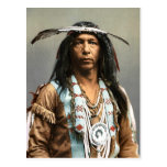 Arrowmaker An Ojibwa Brave1903 Vintage Indian Post Cards
