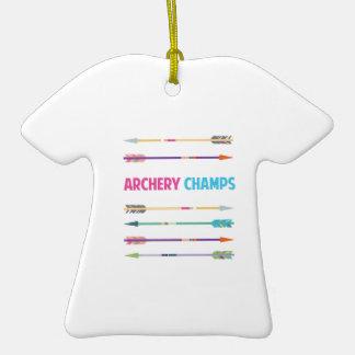 Arrows_Archery_Champs Ceramic T-Shirt Decoration
