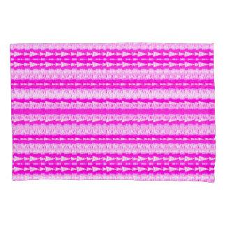 Arrows Inline Bright-Pink Pillowcase