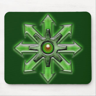 Arrows of Chaos - Green Mouse Pad