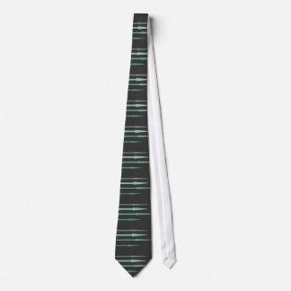 Arrows - teal tie
