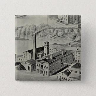 Arrowwanna Mills 15 Cm Square Badge
