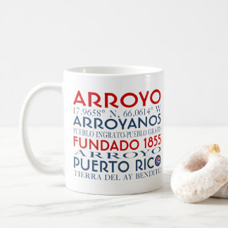 Arroyo, Puerto Rico Coffee Mug
