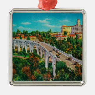 Arroyo Seco Bridge, Colorado Street Bridge Christmas Ornament