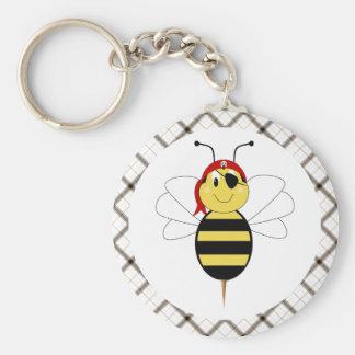Arrr!Bee Bumble Bee Keychain