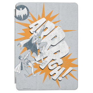 ARRRGH Batman And Robin Climb Graphic iPad Air Cover