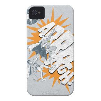 ARRRGH Batman And Robin Climb Graphic iPhone 4 Cases