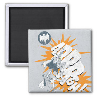 ARRRGH Batman And Robin Climb Graphic Fridge Magnets
