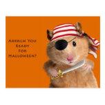 Arrrgh You Ready For Halloween? Postcard
