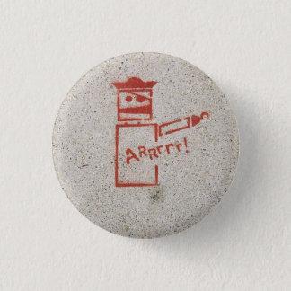 Arrrr 3 Cm Round Badge