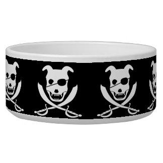 Arrrr it's the doggy roger! pet food bowls