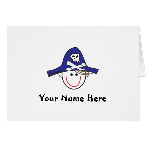 Arrrrrg! Pirate Notes Greeting Cards