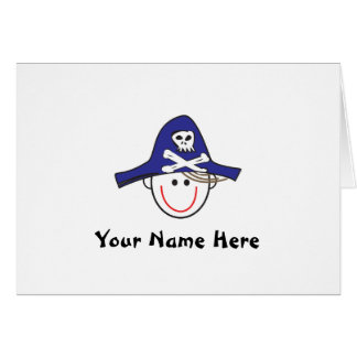 Arrrrrg! Pirate Notes Note Card