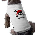 Arrrrrrrf! Dog Pirate Shirt Sleeveless Dog Shirt