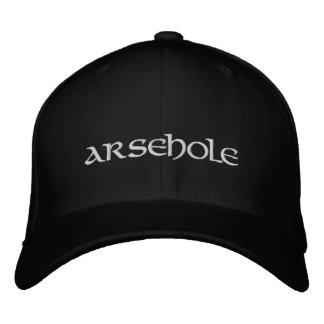 ARSEHOLE EMBROIDERED BASEBALL CAP