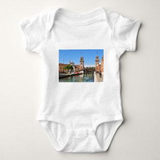 Arsenal in Venice, Italy Baby Bodysuit