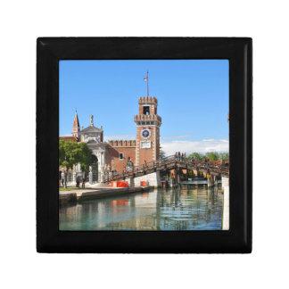 Arsenal in Venice, Italy Gift Box