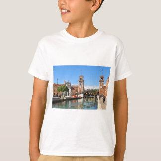 Arsenal in Venice, Italy T-Shirt
