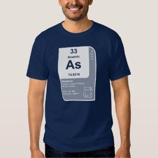 Arsenic (A) Tshirts