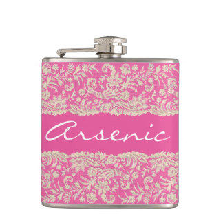 Arsenic and Old Lace Personalize Hip Flask