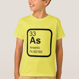 Arsenic - Periodica Table science design Tee Shirts
