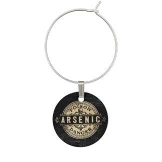 Arsenic Vintage Style Poison Label Wine Charm