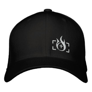 Arson Ink Logo Flexfit Hat Baseball Cap