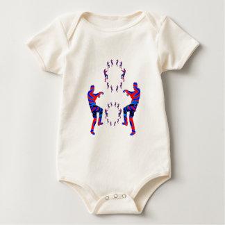 ART101 Alphabet Zombie Dance Baby Creeper