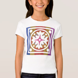Art101 Artist Designed Color Pallet - Flower Flora T-Shirt