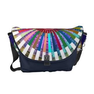 Art101 Basket Weave Folkart Bamboo Chakra Commuter Bags