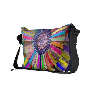Art101 Basket Weave Folkart Bamboo Chakra V3 Messenger Bags