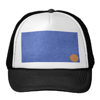 Art101 Gold Seal - Blue Berry Satin Silk Blanks Cap