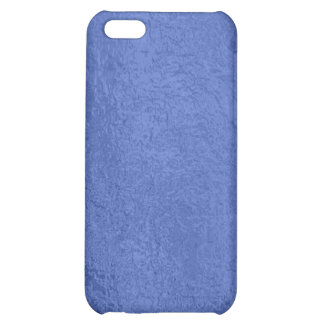 Art101 Gold Seal - Blue Berry Satin Silk Blanks Cover For iPhone 5C