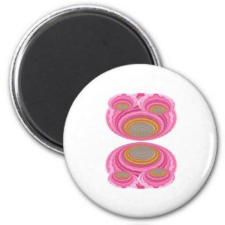 Art101 GoldSeal - Flying Wheels UFO design 6 Cm Round Magnet