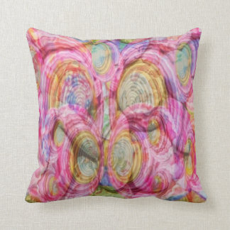 Art101 PINK Graffiti  - Exotic Sea Shells Cushion