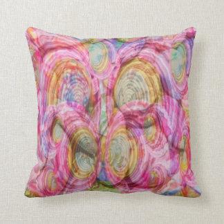 Art101 PINK Graffiti  - Exotic Sea Shells Throw Pillow