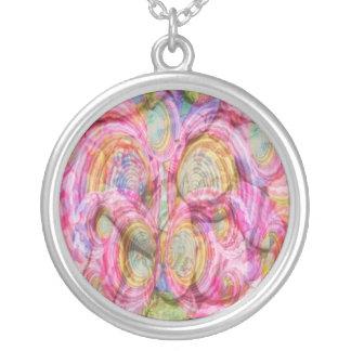 Art101 PINK Graffiti  - Exotic Sea Shells Jewelry