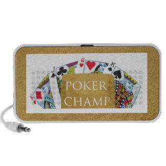 ART101 Poker Champ - Art n Designer Text Mp3 Speakers