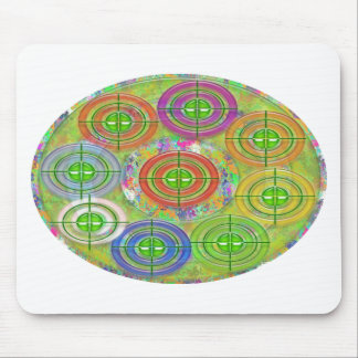 ART101 Red Bull Target Practice Mouse Pad