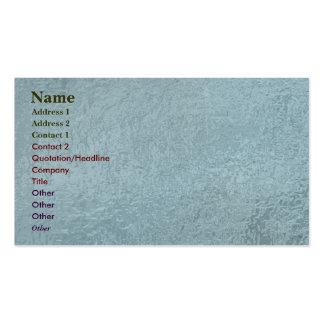 Art101 Rich SatinSilk Glowing Look Green Pack Of Standard Business Cards
