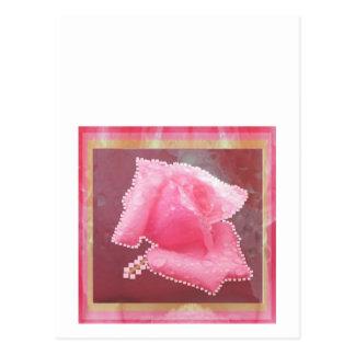 ART101 Sensual Rose Flower Post Card