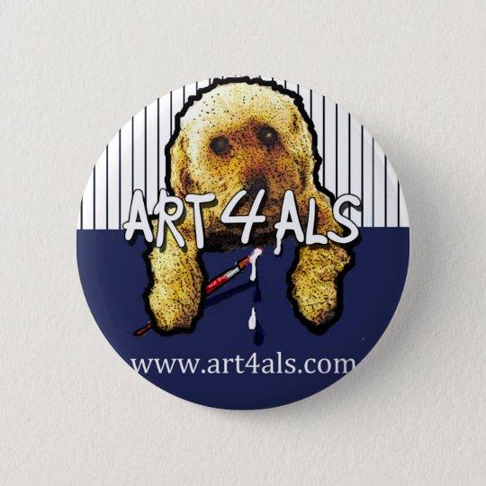 ART 4 ALS Pinstripe Button