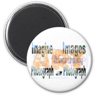 Art 6 Cm Round Magnet