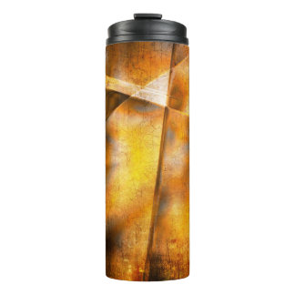 art abstract colorful background thermal tumbler