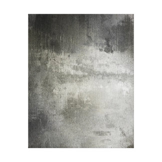 art abstract grunge black and white textured canvas print