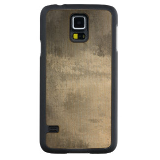 art abstract grunge black and white textured carved maple galaxy s5 case