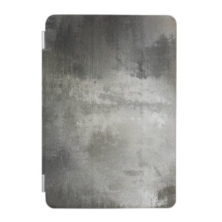 art abstract grunge black and white textured iPad mini cover