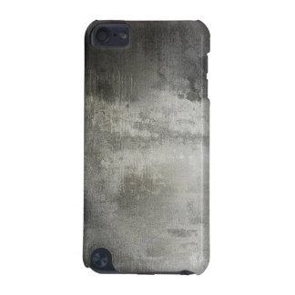 art abstract grunge black and white textured iPod touch 5G covers