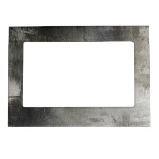 art abstract grunge black and white textured magnetic picture frame