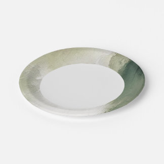 art abstract grunge dust textured background paper plate